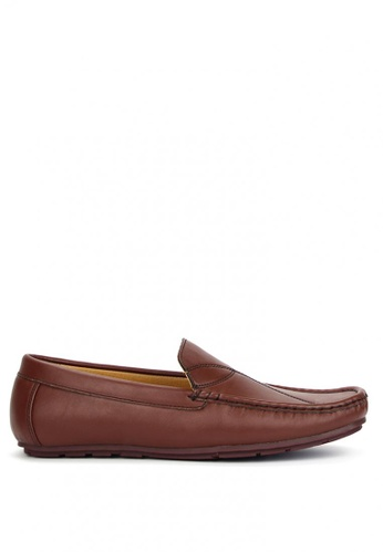 Cardam's Lifestyle brown Perry Casual Loafers CA993SH82APDPH_1