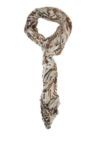 esprit home 台灣斑馬印花圍巾, 飾品配件, 披肩
