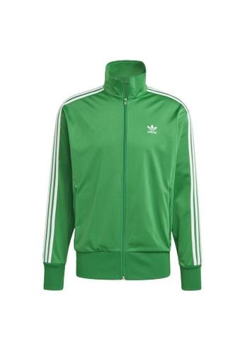 ADIDAS green adidas Originals Adicolor Classics Firebird Track Jacket 455CDAA5953E5BGS_1