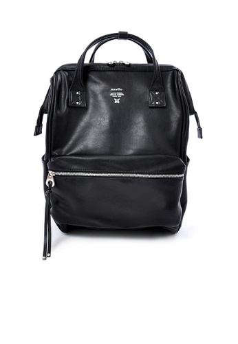Anello black anello Large Premium PU backpack B9E74AC0D395D7GS_1