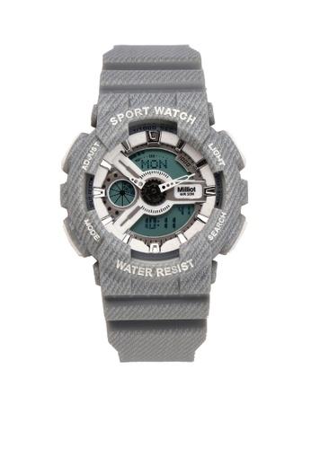 Milliot & Co. grey Nora Watch EC36DACD04286BGS_1