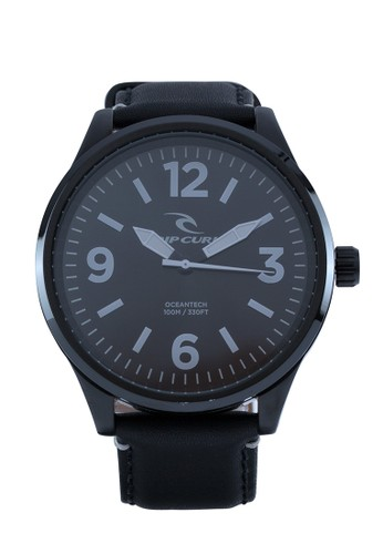 Rip Curl Titan XL Midnight Leather Men Watch