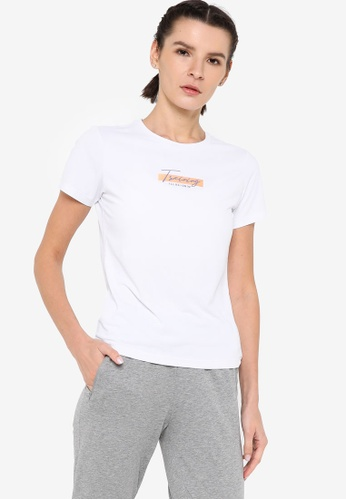 361° white Cross Training Short Sleeve T-shirt 68E3FAAD9CF4BBGS_1
