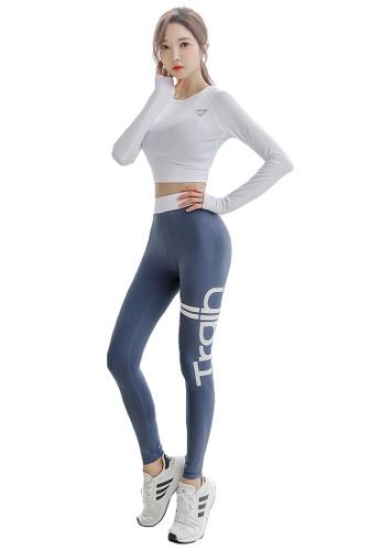 YG Fitness multi (3PCS) Sports Fitness Yoga Set (Sports Bra+Pants+Long T) ACCE8US4D15A3EGS_1