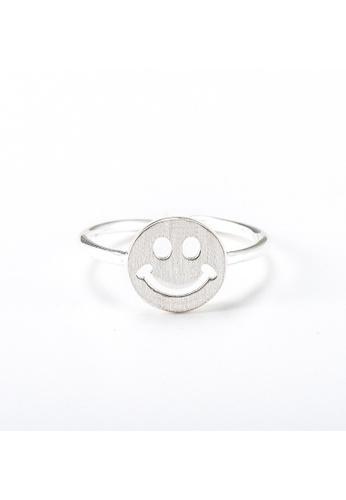 OrBeing 白色 Premium S925 Sliver Doll Ring 569E0ACEF8ED58GS_1