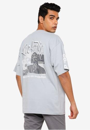 RAGEBLUE blue Graphic T-shirt A183EAAFF3889EGS_1