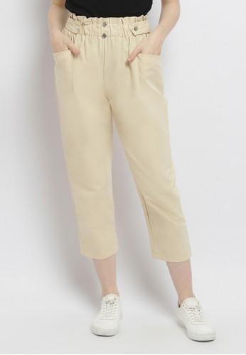 Just Out beige Kazumi Pants C76CBAAD3BA40BGS_1