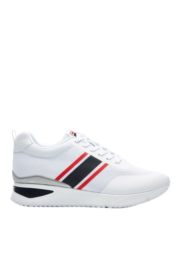 Fila white Elevator Hidden Heel Shoes AED77SH35D4080GS_1