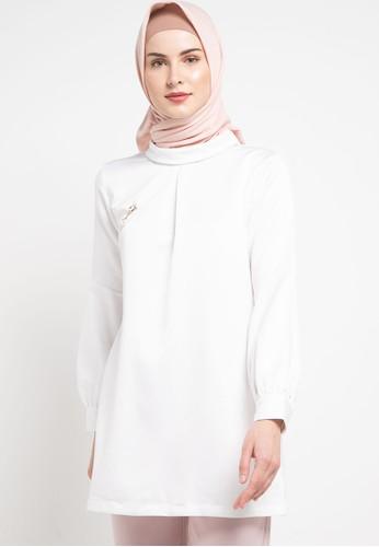 WHITEMODE white Tianna Blouses D1592AAB40808FGS_1