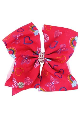 Jojo Siwa red Jojo Siwa Bow With Clip (Love) 4F61DKCB877086GS_1