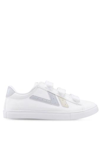 Kolca 灰色 and 白色 Swallow Sneakers 0DE2DSHF33A674GS_1