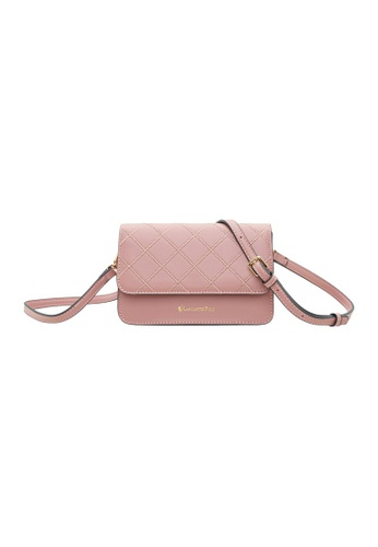 LancasterPolo pink Lancaster Polo Jovy Sling Bag F0992ACE7D50ABGS_1
