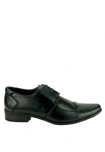 Cardam's Lifestyle black Albert Formal Shoes 34D85SH3984266GS_1