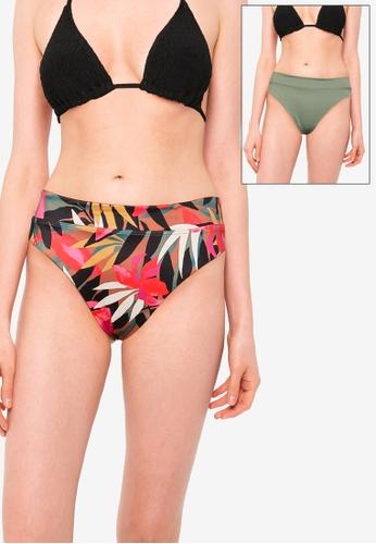 Billabong multi Tropic Nights Maui Bikini Bottom F490FAA9817E47GS_1