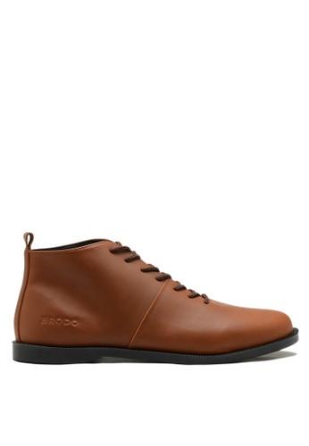Brodo brown BRODO - Sepatu Pria Signore E+ Vintage Brown BS 5355BSH1F035E6GS_1