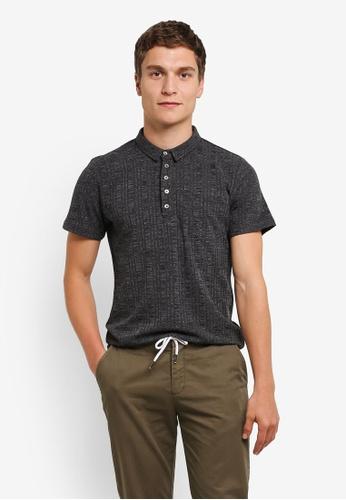 ZALORA grey 5 Buttons Pocket Polo Shirt 59416AA4169A9CGS_1