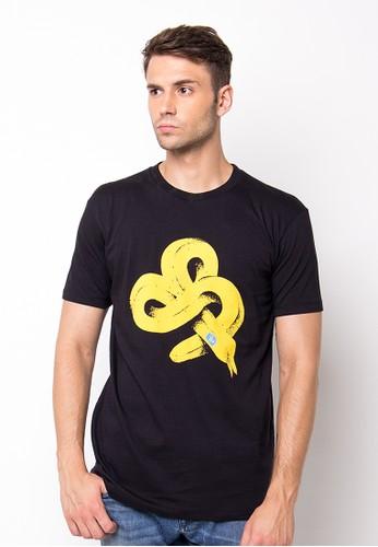 Endorse Tshirt H Banana Black END-PF018
