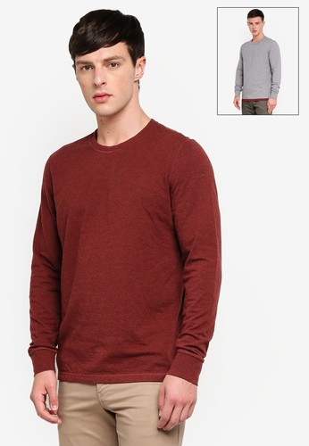 Brooks Brothers red Reversible T-shirt 4C649AA86D67BDGS_1