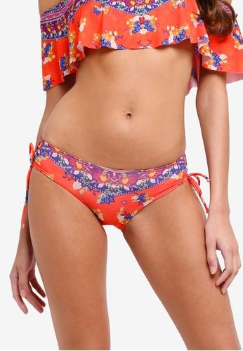 Piha multi Batik Floral Adjustable Side Pants C03C1US947CD6EGS_1