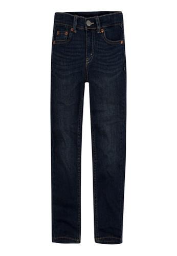 Levi's Kids blue LEVIS Little Boy 512 Slim Taper Fit Jeans 5CD60KA403946FGS_1