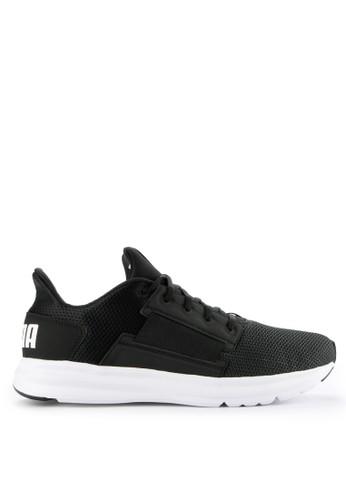 PUMA black Enzo Street Shoes 67593SHC6A2889GS_1