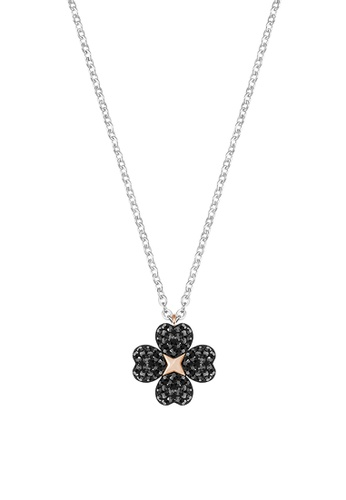 Swarovski black Latisha Flower Pendant Necklace 45A39AC672FC51GS_1