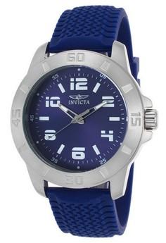 Pro Diver Men 45mm Case Polyurethane Strap Dial Quartz Watch 21859