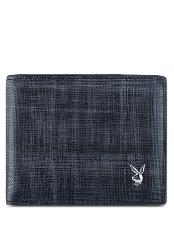 Playboy grey Rfid Blocking Bi-Fold Wallet F39AFACD520DE9GS_1