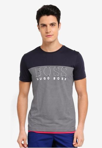 BOSS navy Teep 11 T-Shirt - Boss Athleisure D8785AA6043CDDGS_1