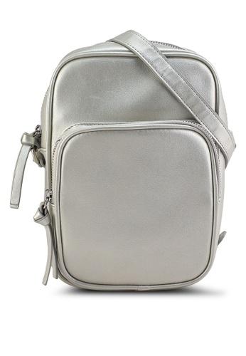 GLOBAL WORK grey Casual Sling Bag D4F6FAC246B389GS_1