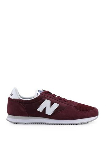 New Balance red 220 Core Classic Shoes E24BASHFDF74A3GS_1