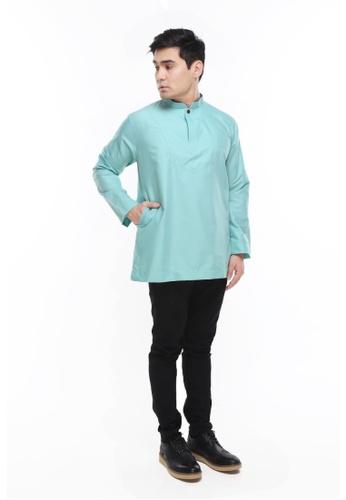 Amar Amran green Kurta Al Idrus 2.0 BC84CAA389983AGS_1