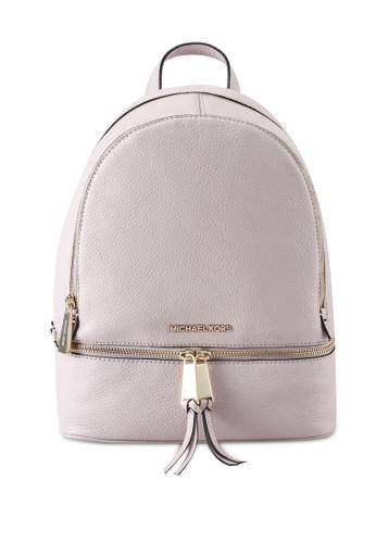 Michael Kors pink Rhea M Backpack (zt) 10D95ACDB64DBBGS_1