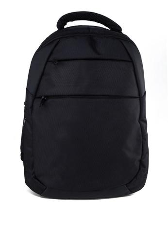 Bagman black Laptop Backpack BA454AC83AVGMY_1