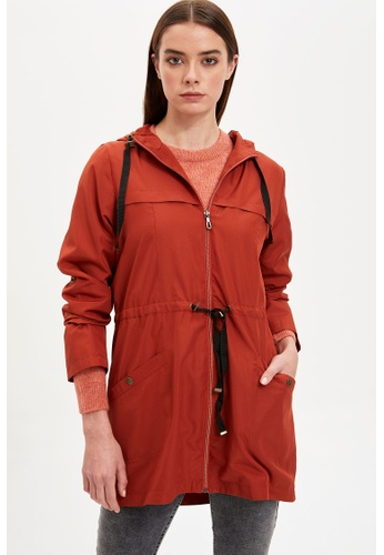 DeFacto orange Woman Raincoat A79C7AA498DABFGS_1