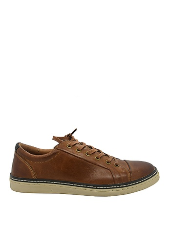 Hush Puppies brown Hush Puppies Rickman Lace Up In Camel A8F19SHDC9F707GS_1