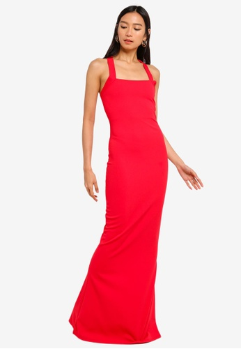 MISSGUIDED red Multiway Maxi Dress 9020EAAEFB68B4GS_1