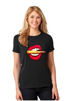 Bullet in a Lips T-Shirt