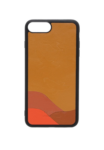 POROLUXE brown PHONE CASE FOR IPHONE 6+/7+/8+ E63B9AC4F9B9E1GS_1
