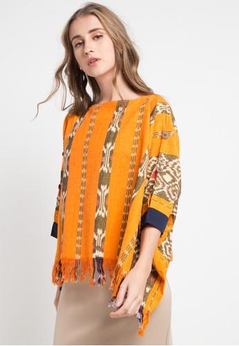 ISVARA BATIK yellow and multi Meera Tenun Long Sleeve BBCABAA2CBF381GS_1