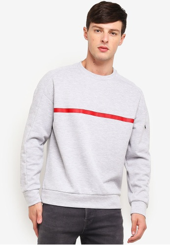 Buy Jack   Jones Crew Neck Sweatshirt Online on ZALORA Singapore 0d464f8f89