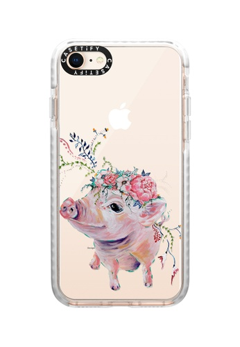Casetify white Pearl The Pig Impact Protective Case for iPhone 8/ iPhone 7 D79B7AC8EAAECFGS_1