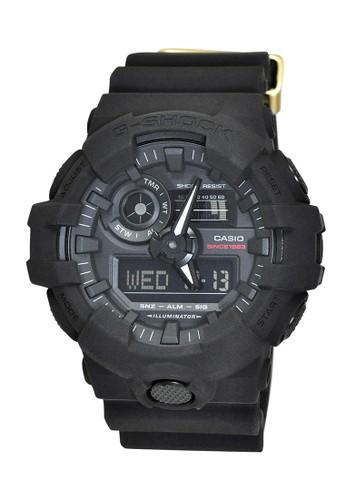 Casio black Casio G-SHOCK Jam Tangan Pria - Black - Resin - GA-735A-1ADR FD944AC9F87302GS_1