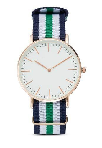 esprit台北門市經典條紋圓錶, 錶類, 其它錶帶
