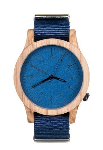 傳承系列寶石藍橡木錶,esprit台灣門市 錶類, 時尚型