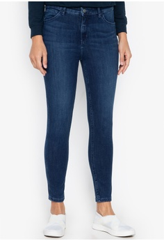 ecd09991f5 Available in several sizes. Wrangler blue High Waist Ankle Skinny Jeans  D1B07AAF832406GS_1