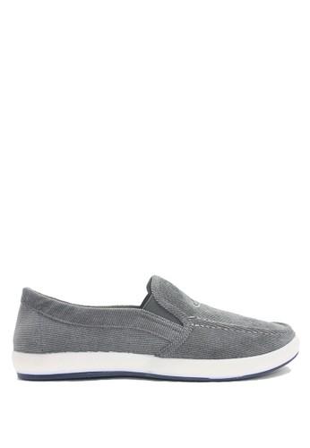 Dr. Kevin grey Dr. Kevin Men Sneaker Slip On 13315 - Grey DR982SH0VHYIID_1