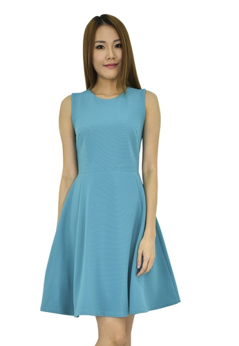 MOONRIVER Dilys Classic Fit And Flare Dress MO886AA0F9R0SG_1
