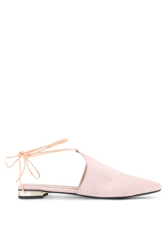 House of Avenues pink Pointy Flats HO685SH0RRBUMY_1