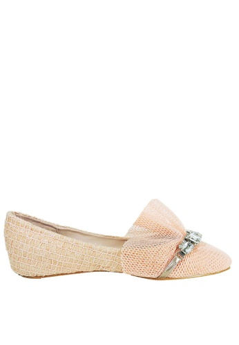 Jacque pink Princess Peach Flats JA262SH27KCUMY_1